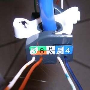 Tomada RJ45 - colocação fios 2
