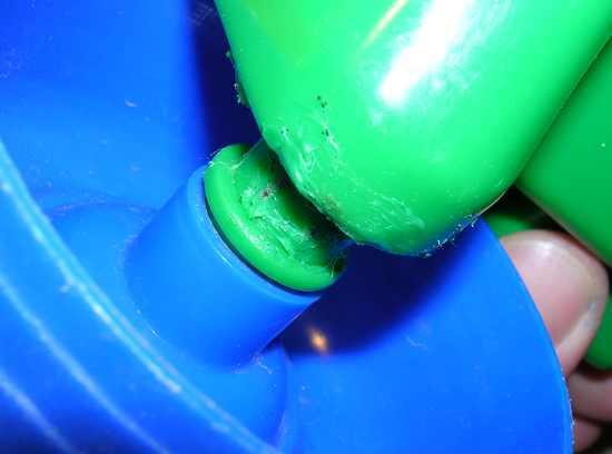 Figura 15 – Montagem da roda no eixo.