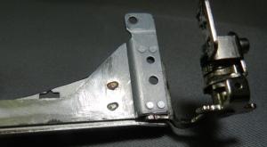 Figura 30 –Detalhe do acabamento da parte inferior do braço.