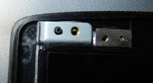 Figura 5 – Canto superior esquerdo do painel original, inserido no suporte.