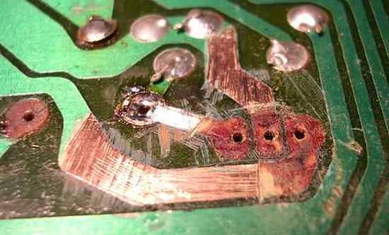 Figura 6 - Aspecto da placa raspada e limpa.