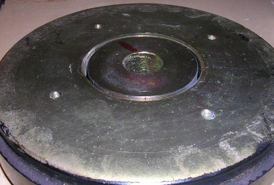 Figura 8 – Conjunto magnético limpo.