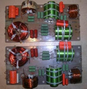 Figura 8 – placa dos divisores de frequências das caixas.
