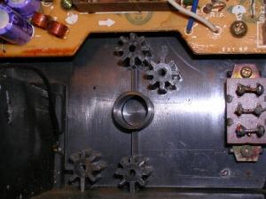 Figura 1 – Local para o transformador em rádio-gravador.
