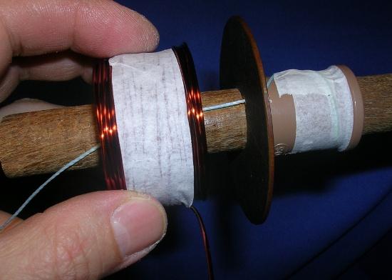 Figura 17 – Retirada da bobina.