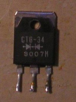Figura 4 – Diodo Schottky retirado de fonte de PC.