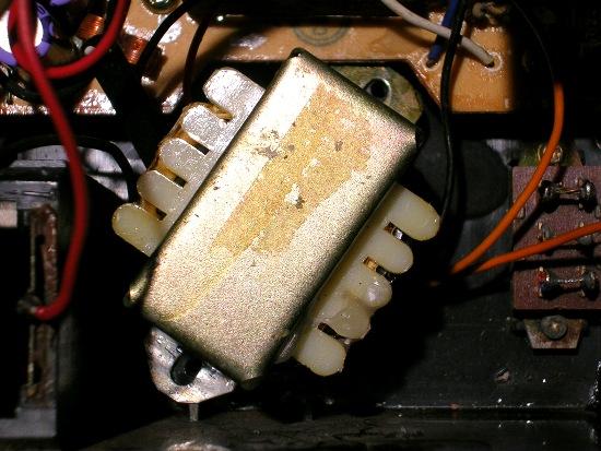 Figura 5 – Transformador pronto para montagem.