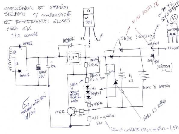 Figura 6 – Diagrama esquemático do carregador.