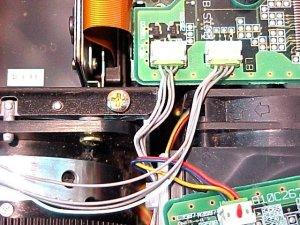 Figura 13 – Conectores dos sensores de infravermelho e umidade.