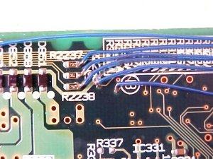 Figura 5 – Lado esquerdo das conexões, recuperado e limpo.