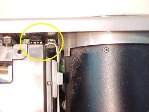 Figura 9 – Sensor infravermelho, visto mais de longe.