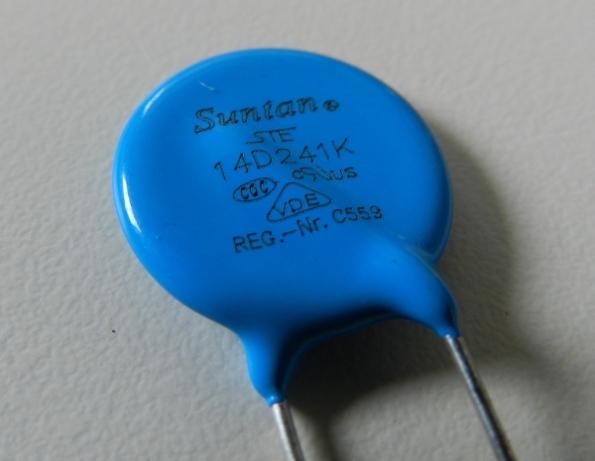 Figura 27 – Varistor equivalente ao original.