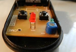Figura 10 – Led torto por causa de esforço mecânico.
