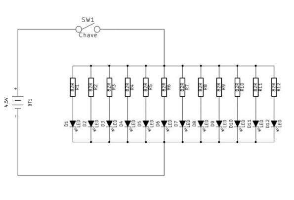 Figura 27 – Esquema da lanterna modificada.