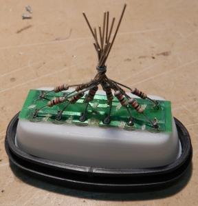 Figura 39 – Soldagem dos resistores II.