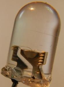 Figura 4 – Led branco em detalhe.