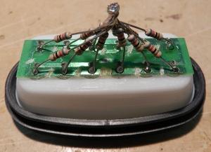 Figura 40 – Soldagem dos resistores III.