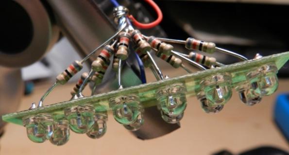 Figura 41 – Soldagem dos resistores IV.