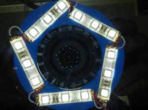 Figura 11 – Teste do anel na câmera.
