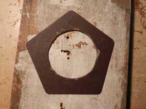 Figura 19 - Moldagem da placa de fenolite III.