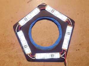 Figura 24 – Teste do anel remontado.
