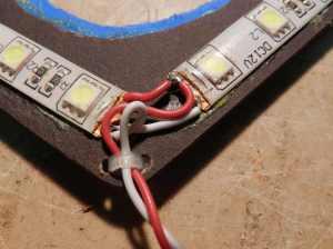 Figura 25 – Ancoramento dos fios de ligação.