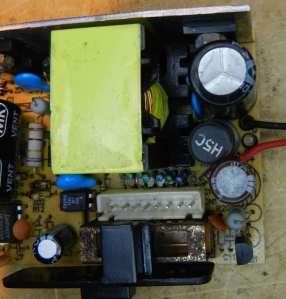Figura 16 – Estágio secundário, após a inserção da bobina e do capacitor.
