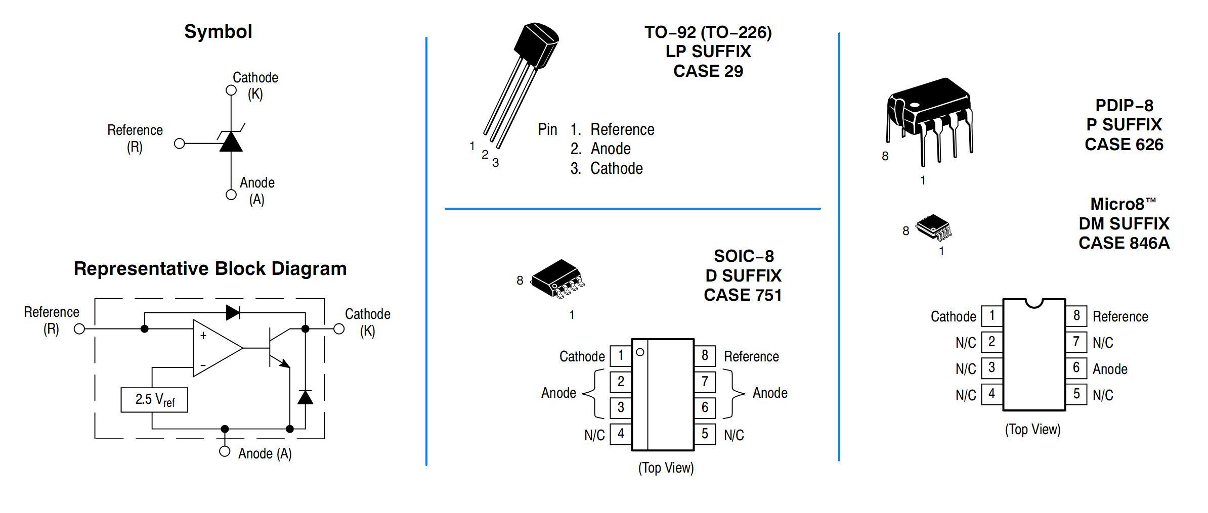 Tcnica Conserto De Fonte Chaveada Com Sada Varivel 12 At Segue Abaixo O Desenho Do Circuito Se Voc Quiser Montar Seu Figura 18 Simbologia Diagrama Blocos E Encapsulamentos Tl431 On
