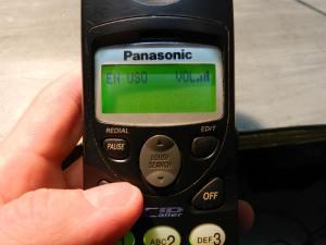 Figura 15 – Telefone em uso após o conserto.