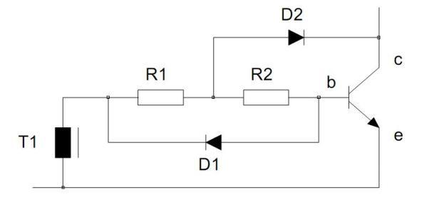 Figura 17 – Circuito melhorado de polarização de base. Fonte: Philips [1].