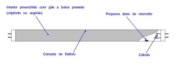 Figura 2 – Lâmpada fluorescente. Fonte: Philips [1].