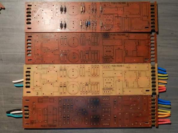 Figura 52 – Placas de reatores Helfont.