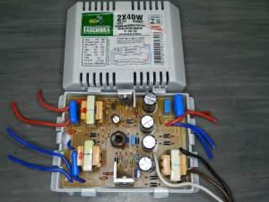 Figura 57 - Reator Tashibra TRE-240, para duas lâmpadas de 40W.