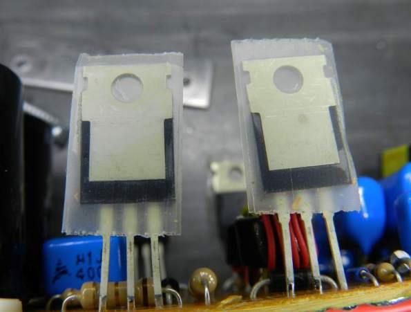 Figura 73 – Isolante para os transistores.