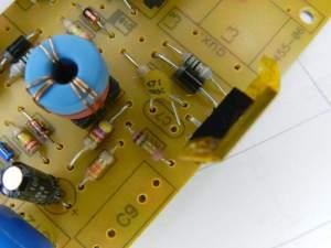 Figura 78– Capacitor com terminal solto.