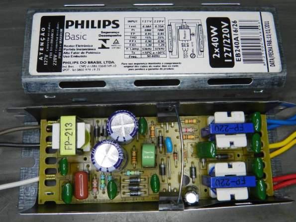 Figura 96 – Reator Philips EB240A 1626.