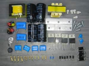 Figura 99 – Componentes de reator duplo Imatron 2x110W.