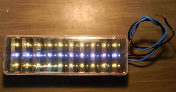 Luminária LLUM modificada