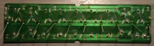 Figura 18 – Soldagem dos LEDs branco frio, da faixa central.