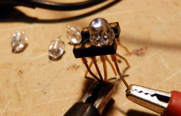 Figura 2 – Soquete para testar vários LEDs.