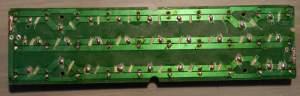 Figura 22 – Placa com todos os LEDs, pronta para receber os resistores.