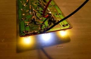 Figura 25 – Placa pronta, onde é possível identificar um diodo zener, em epóxi preto (6,2V – 5W).