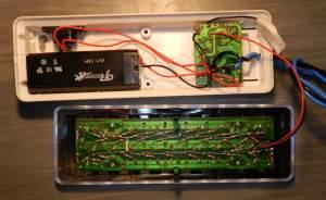 Figura 29 – Placa já colocada na posição original, com o transistor MOSFET isolado com fita crepe.