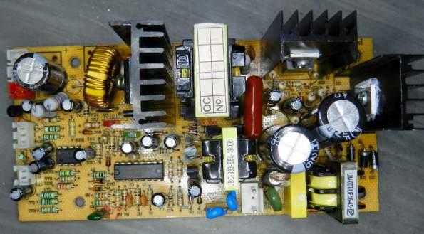 Placa de adega eletrônica