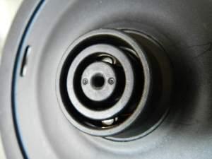 Figura 4 – Detalhe da conexão da base, que fornece energia.