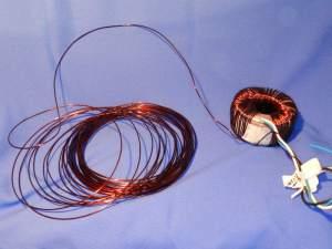 Figura 24 – Restante do fio pronto para ser colocado no carretel.