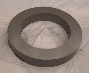 Figura 3 – Núcleo de aço silício de transformador toroidal, onde se nota que é uma cinta enrolada. Fonte: CNS [3].