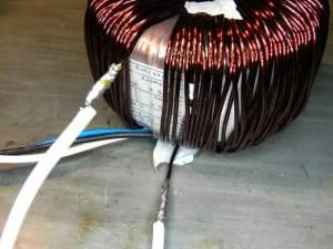 Figura 30 – Soldagem dos fios do enrolamento de 34V.