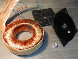Figura 52 – Transformador toroidal 2 queimado.