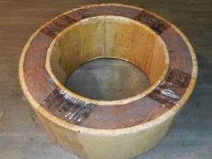 Figura 59 – Pesagem da fiação utilizada no toroidal 1.